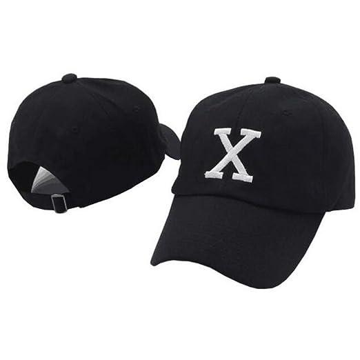 IreDi Malcolm X Hat Dad Cap 90s Embroidered X Logo Vintage Adjustable Black b969ff974b2