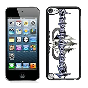 Durable Case Kingdom Hearts 2 Black Case for iPod Touch 5
