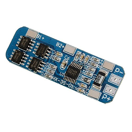 - 10A Charger Protection Board For 18650 Li-ion lithium Battery Cell