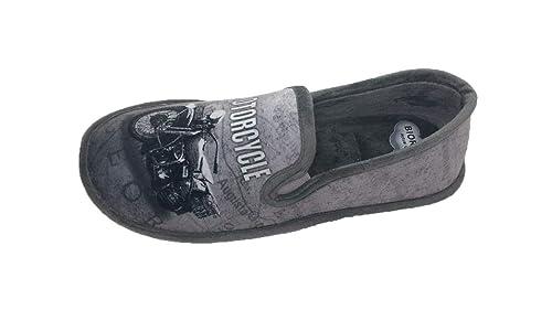 Zapatillas de Estar por casa/Hombre/Biorelax/Cerrada de Talón/Material Grenoble