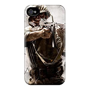 Durable Ww Ii Cod Back Case/cover For Iphone 4/4s