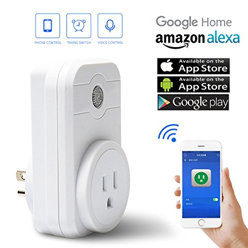 Wi-Fi-Smart-Plug-Socket-with-Intelligence-Wi-Fi-Switch-and-Timer-Work-with-Amazon-Alexa-Google-HomeApp-Control-from-Anywhere-by-IOSAndroid-smartphone