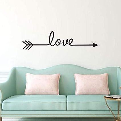STRIR Love Arrow Decal Cuarto De BañO De Vinilo De Vinilo [Clase de ...