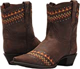 Dan Post Western Boot Womens Autumn Snip 6.5 M Dark Brown DP3738