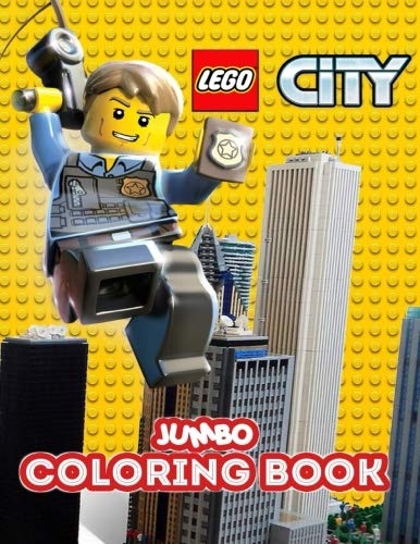 (LEGO CITY Jumbo Coloring Book: Great Coloring Book for Kids and Any Fan of Lego City (Perfect for Children Ages)