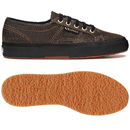 2750 Gold Sneaker Fabriclamerhombusw Gold Damen Superga q5XgwTW