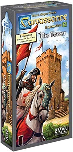 Carcassonne: The Tower Expansion No 4: Amazon.es: Juguetes y juegos