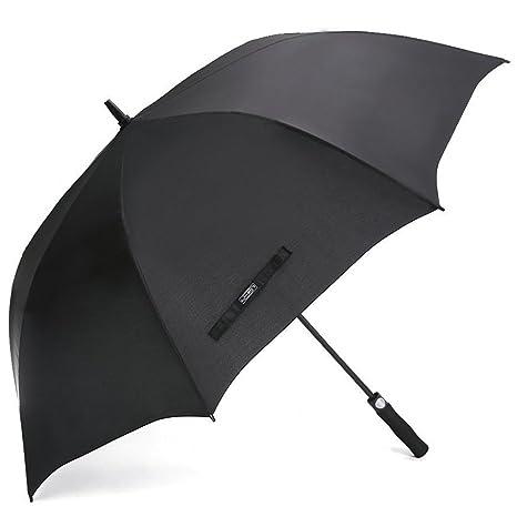 G4Free 62 pulgadas de paraguas de golf abierto autom¨¢tico extra grande paraguas impermeable
