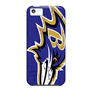 Fashionable Style Case Cover Skin For Iphone 5c- Baltimore Ravens