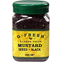 G-Fresh Mustard Seeds (Black), 130 g