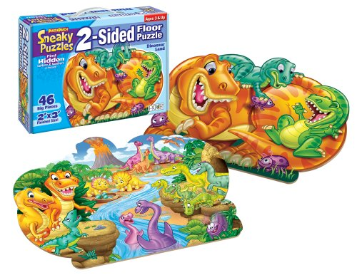 Sneaky Puzzles - Dinosaur Land ()