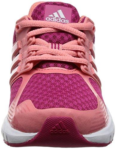 adidas Duramo 8 K, Zapatillas de Deporte Unisex Niños Rosa (Rosfue / Rostac / Ftwbla)