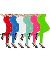 Solid Color Full Length Leggings