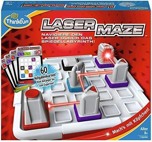 Thinkfun Geschicklichkeitsspiel 76356 - Laze Maze - Spiel für Kinder ab 8 Jahren