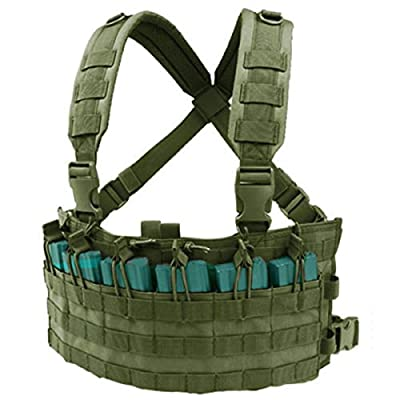 Condor Rapid Assault Chest Rig - OD Green MCR6-001 by Condor Outdoor