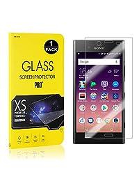 Sony Xperia XZ1 Screen Protector, Bear Village® Tempered Glass Screen Protector [Lifetime Warranty], 9H Hardness Screen Protector Film for Sony Xperia XZ1-1 PACK