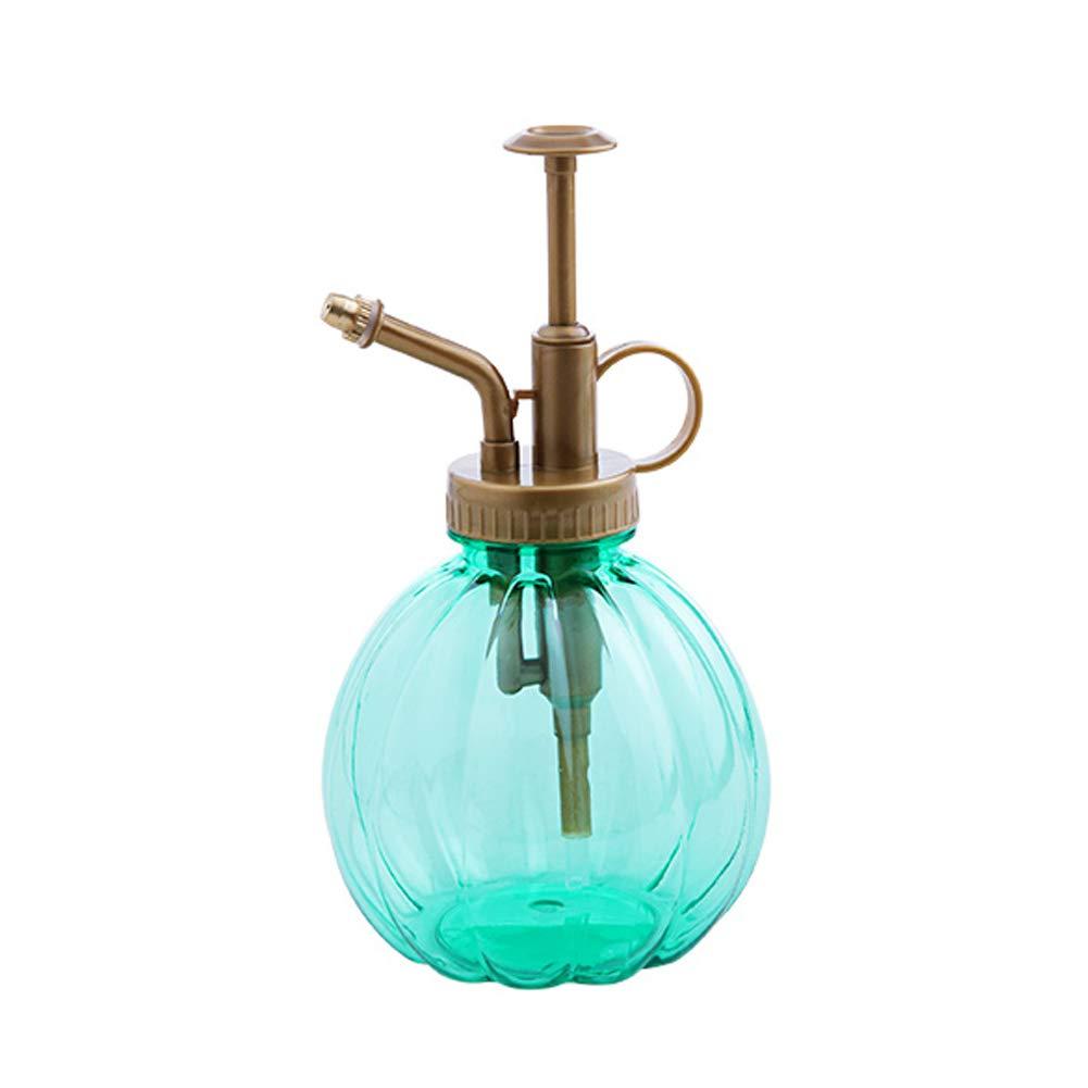 Unicoco Eau pulvé risé e Bouteille Style Vintage Presse Transparente Type arrosoir Petite Citrouille Plante Vaporisateur Pot Violet