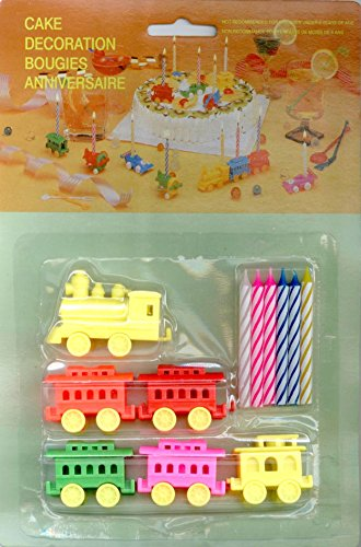 Choo Choo Train Cake Toppers - Cake Decorations ()