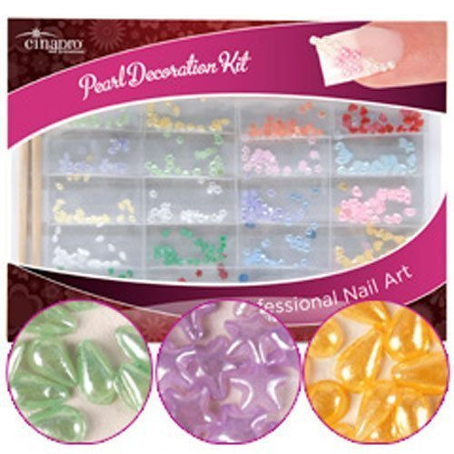CinaPro Nail Creations Pearl Decoration Kit