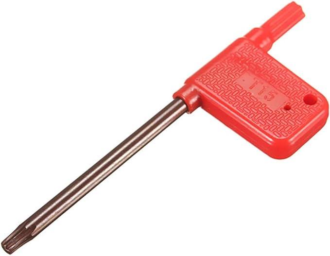 KKmoon SRAPR1616H 10 pi/èces de carbure RPMT10T3MO 10 porte-outils de fraisage de visage