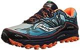 Cheap Saucony Men's Xodus 6.0 Running Shoe, Blue/Orange,8 M US