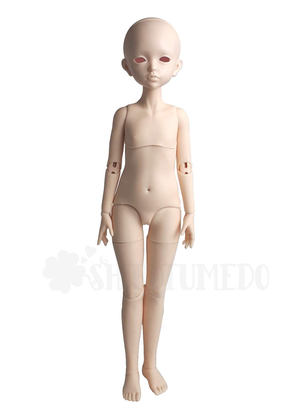 BJD ドール( 本体のみ )球体関節人形 BJDドール カスタムドール ヘッド + ボディ 女 人形本体 D-0003 B07MCXD5QC