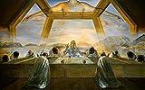 Salvador Dali - The Sacrament of The Last Supper, Size 16x24 inch, Poster Art Print Wall décor