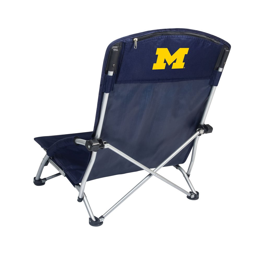 PICNIC TIME NCAA Michigan Wolverines Tranquility Portable Folding Beach Chair
