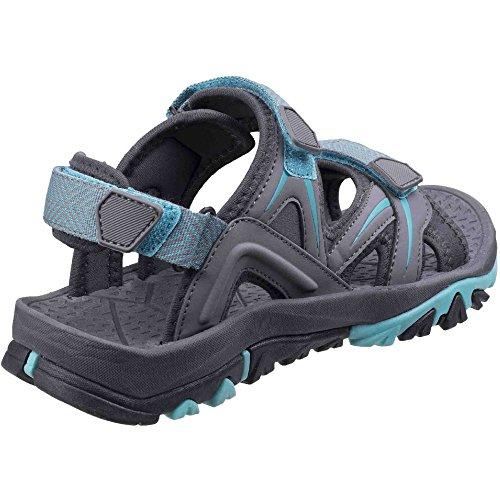 Cotswold Womens/Ladies Swinbrook Women�s Casual Walking Sandals Grey/Aqua Pot6hxdk