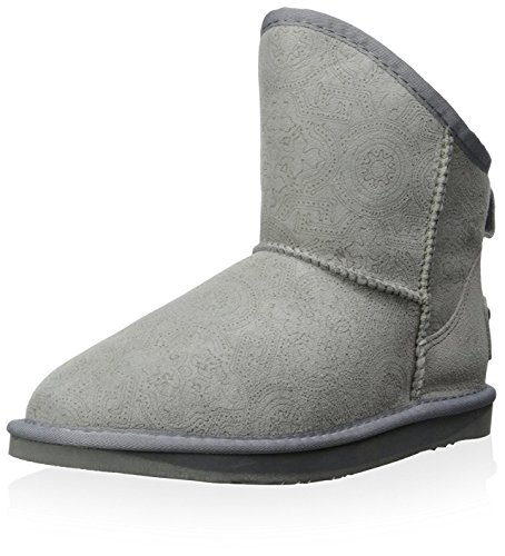 Women's Grey Australia Laser Cosy X Boot Short Luxe Collective Er8qgr