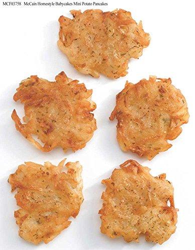 McCain Homestyle Babycakes Mini Potato Pancake, 3 Pound -- 6 per case.