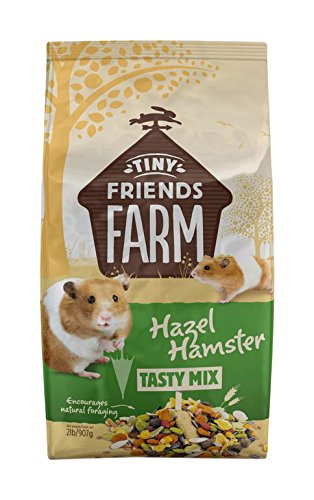 SupremePetfoods Tiny Friends Farm Hazel Hamster Tasty Mix (2 Pounds)