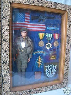 G.I. Joe 12 Inch Timeless Collection FAO Schwarz Green Beret Memorabilia - Memorabilia Green