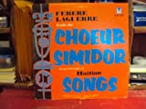 Ferere Laguerre Leads The Choeur Simidor in a Performance of Haitian Songs