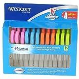 "Westcott 5"" Kid's Blunt-Tip Scissors w/Microban (12 Count)- Pack of 2 by Westcott"