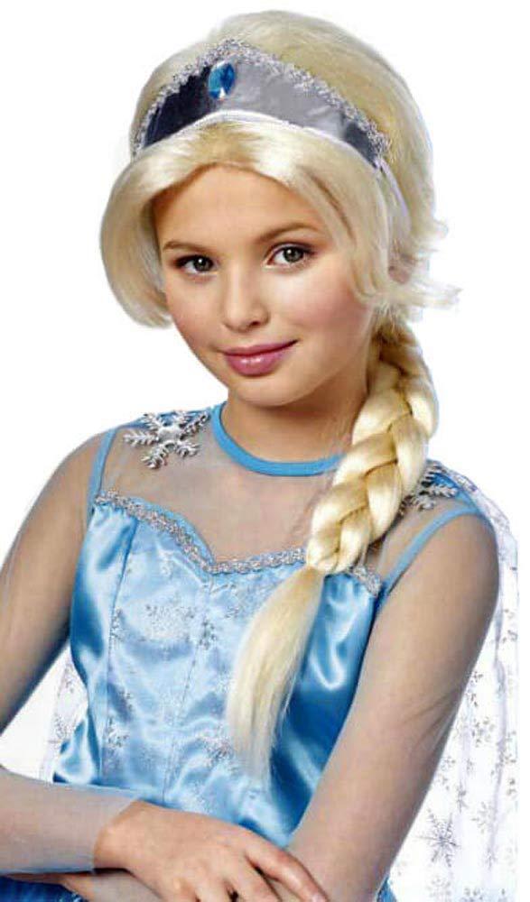 Franco American Novelty Company Child's Platinum Crystal Princess Wig
