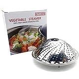 Basket Instant Pot,Vegetable Food Steamer Pot Fits Instant Pot Pressure Cooker-Collapsible Fruit Basket and Veggie Tray - 100% Stainless Steel