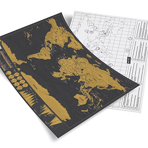 Amado Black Gold Scratching Travel World product image