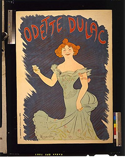 hoto: Odette Dulac,1865-1939,French Actress,Singer,wearing rings on every finger (Odette Ring)