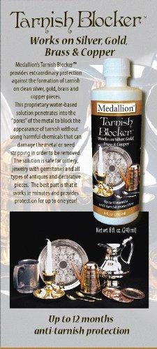 Deluxe Liquid Tarnish Blocker System Kit By Medallion (Liquid Gold And Liquid Silver Plating Kit)