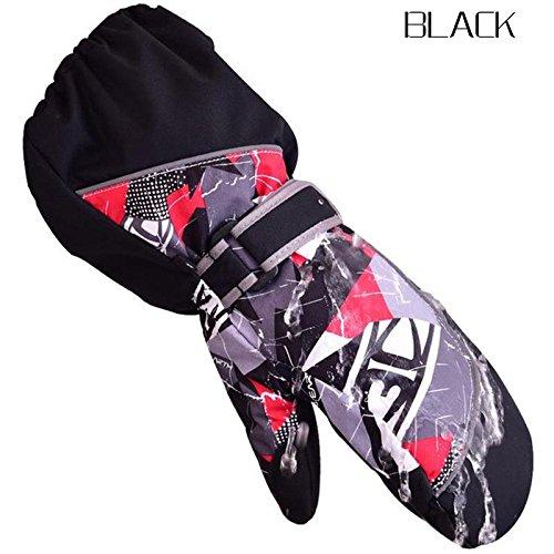 WXLAA Winter Sports Ski Gloves Cute Warm Gloves Mittens Waterproof Windproof for Kids Childrem