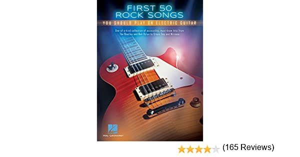 First 50 Rock Songs You Should Play on Electric Guitar (English ...