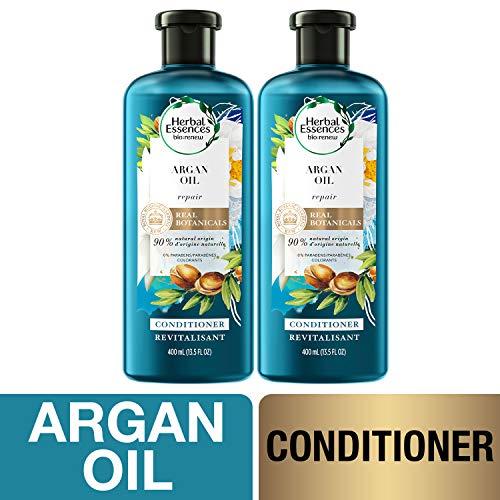 Herbal Essences Sulfate Free Conditioner, BioRenew Argan Oil of Morocco, 13.5 fl oz Twin Pack