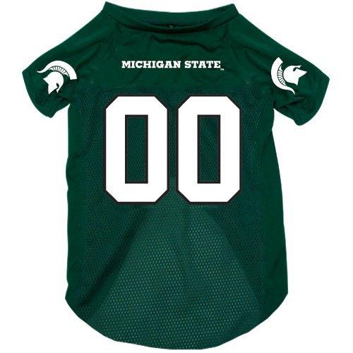 Michigan State Spartans pet dog jersey Large