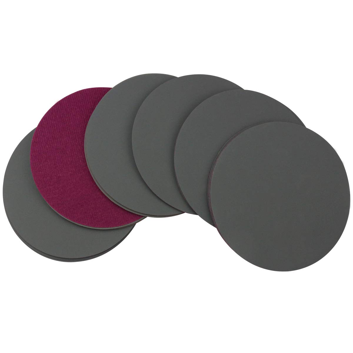 Sanding Discs 6 Inch,600 Grit Wet Dry Sandpaper,Silicon Carbide Hook and Loop Random Orbital Sander Round Sand Paper by MAXMAN,30-Pack