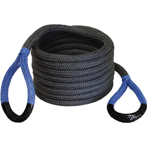 Image of Bubba Rope 176660BLG 7/8' x 20' Breaking Strength Original Rope with Standard Blue Eye - 28600 lbs. Capacity Cables