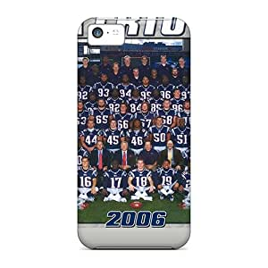 Snap-on Case Designed For Iphone 5c- New England Patriots