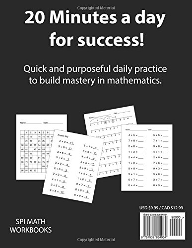 1st Grade Basic Math Drills: Builds and Boosts Key Skills ...