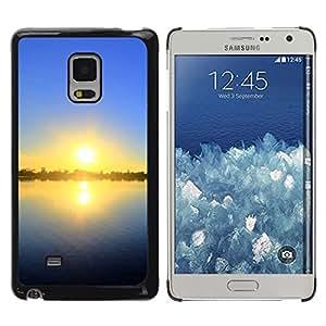 Be Good Phone Accessory // Dura Cáscara cubierta Protectora Caso Carcasa Funda de Protección para Samsung Galaxy Mega 5.8 9150 9152 // Sunset Beautiful Nature 55