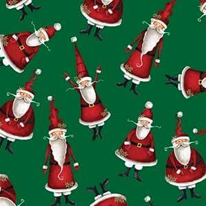 Jillson Roberts Recycled Christmas Gift Wrap, Ho Ho Ho, 6 Count (XR694)